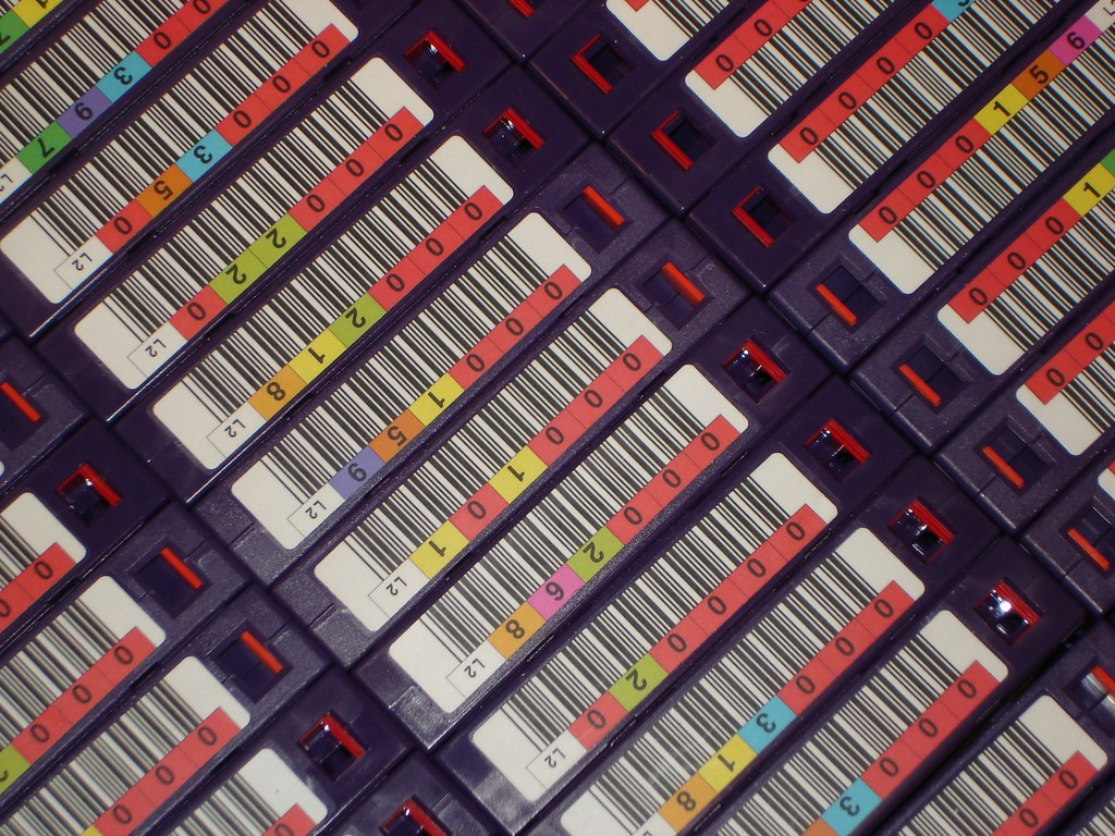 """tapes, backup"" CC-BY-SA 2.0 by Martin Abblegen via flickr"